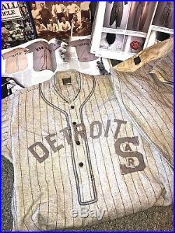 1925 DETROIT STARS (SAR) GAME USED NEGRO LEAGUE UNIFORM WithSPALDING BLACK LABEL