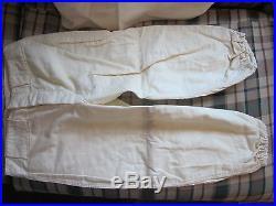 1930's era A baseball uniform jersey and pants Empire Pepperell Fabrics