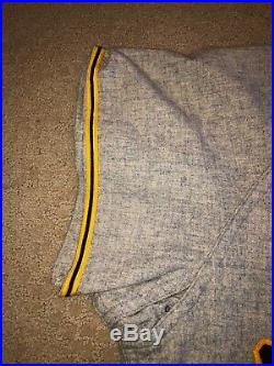 1950 Pittsburgh Pirates Game Used Jersey Flannel Tom Saffell