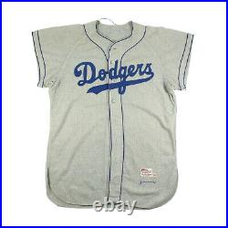 1956 Brooklyn Dodgers Game Used Original Flannel Jersey Matched To World Series