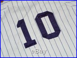 1960s 1970s GAME USED VINTAGE NEW YORK YANKEES WILSON FLANNEL BASEBALL  JERSEY 73a068645
