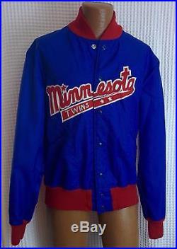 1960s Minnesota Twins Butwin Brand Size 46 Warm Up Jacket with Snaps