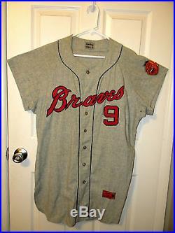 1964, Milwaukee Braves, MLB, Baseball, Jersey, Authentic, Original