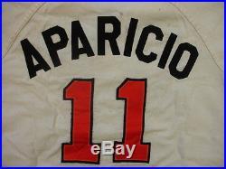 1966 Baltimore Orioles #11 Luis Aparicio Game Worn / Used Flannel Jersey