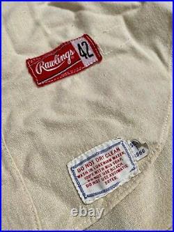 1966 Manny Mota Pittsburgh Pirates Game Worn Jersey