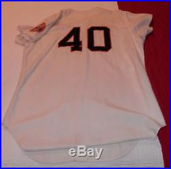 1968 Houston Astros Don Wilson HOME GAME WORN USED JERSEY MEARS Graded A10