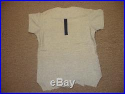 1969 Bobby Murcer NY Yankees Game Used Road Flannel Jersey-#1