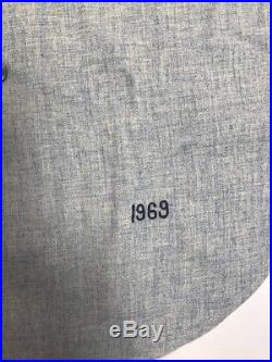 1969 Joe Coleman Washington Senators Game Used Worn Jersey Size 42