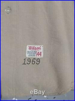 1969 Padres Inaugural Season Game Used Jersey RARE
