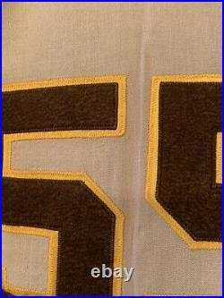 1969 San Diego Padres Jersey / Game Used Worn Roberto Peña