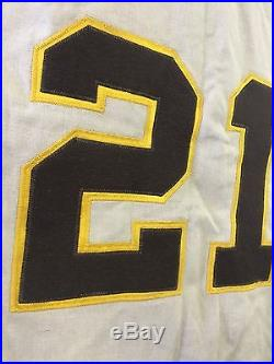 1970 Cito Clarence Gaston San Diego Padres Game Used Flannel Jersey