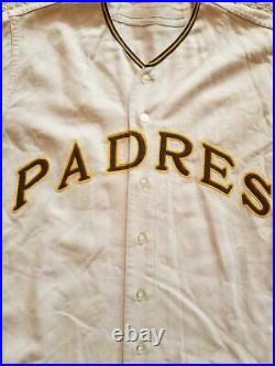 1970 San Diego Padres Game Used Flannel Jersey