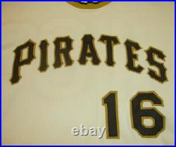 1970's Al Oliver Pittsburgh Pirates Game Worn Used Jersey. 303 Lifetime Hitter
