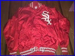 1971 1975 game worn Chicago White Sox warmup dugout jacket