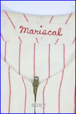 1971 Chicago White Sox Game Used Vintage Flannel Home Pin-stripe Jersey