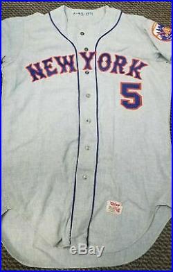 1971 Mets Flannel Baseball Jersey
