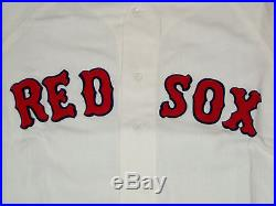 1972 GAME USED BOSTON RED SOX JOHN KENNEDY FLANNEL JERSEY VINTAGE 1970s 1960s