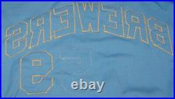 1972 Milwaukee Brewer Game Worn Used Jersey #59 John Felske Spalding