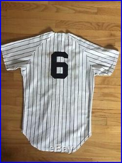 1973 Yankees Vintage Game Used Worn Jersey Steiner