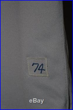 1974 Dave LaRoche Chicago Cubs Game Used Baseball Jersey, Wilson Sz 46, Set 2