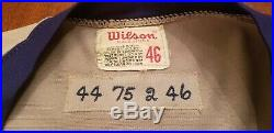 1975 Burt Hooton Game Used Road Chicago Cubs Jersey