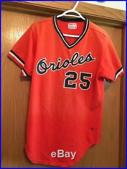 1975 Don Baylor Baltimore Orioles Game Used Jersey & Pants with Auto Hat