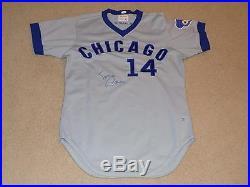 1975 Ernie Banks Game Worn Signed Jersey Chicago Cubs HOF JSA
