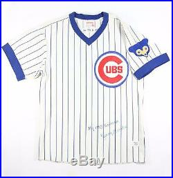 1975 Jerry Morales Chicago Cubs Signed Game Used Worn Home Jersey