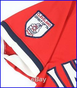 official photos 1cb26 3af98 1976 Buddy Bell Cleveland Indians Game Worn Vintage Red ...
