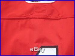 1978 Chicago Blackhawks Game Worn Used Road Durene Jersey Bobby Orr Gunzos