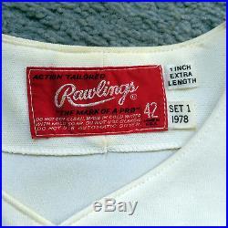 1978 Randy Miller Montreal Expos Game Worn Jersey