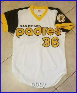 1978 San Diego Padres Gaylord Perry Pro Model Home Jersey
