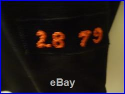 1979 Ed Halicki Game Used Worn San Francisco Giants Black Jersey