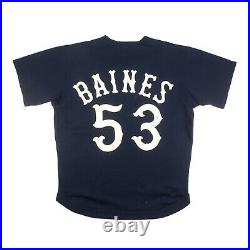 1979 Harold Baines Game Used Vintage Chicago White Sox 1st Jersey For Chi-sox