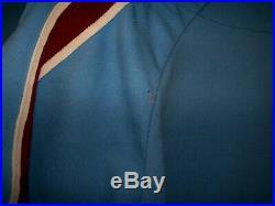 1979 Jim Lonborg Philadelphia Phillies Vintage Authentic Mlb Game Used Jersey