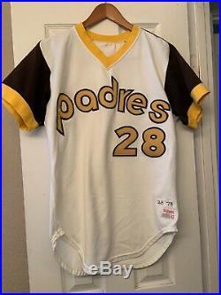 1979 San Diego Padres Jersey / Game Used Worn Bobby Tolan