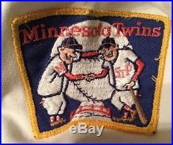 1980 MINNESOTA TWINS SAL BUTERA 11 GAME WORN JERSEY SET2 Size 44