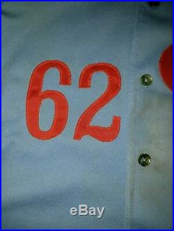 1980 Montreal Expos Game Used Rawlings Jersey