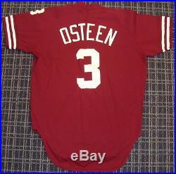 1980's Claude Osteen Philadelphia Phillies Game Used Jersey