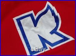 1980s IHL KALAMAZOO WINGS GAME USED VINTAGE HOCKEY JERSEY MINNESOTA NORTH STARS