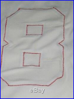 1982 Atlanta Braves Bob Walk Game Worn Used Home Pullover Jersey