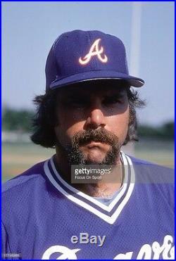 1982 Atlanta Braves Game Used Worn BP Baseball Jersey Tommie Aaron