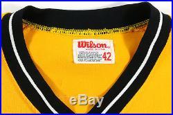 1982 Bill Mad-dog Madlock Game Used Worn Pittsburgh Pirates Vintage Jersey