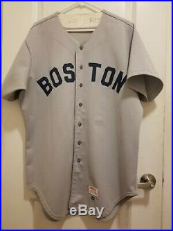 1982 Game Worn/Issued John Henry Johnson Boston Red Sox Jersey Size 46