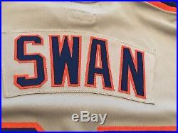 1982 New York Mets Game Used Worn Road Jersey Craig Swan
