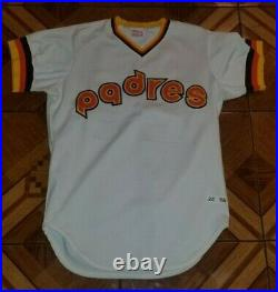 1982 San Diego Padres Game Used Home Jersey Gary Lucas