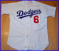 1982 Steve Garvey Los Angeles Dodgers Game Used Worn Home Jersey
