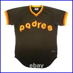 1983 Rupert Jones San Diego Padres Vintage Game Used Worn Jersey Rare Road Brown