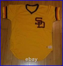 1983 San Diego Padres Game Used Batting Practice Jersey Steve Garvey