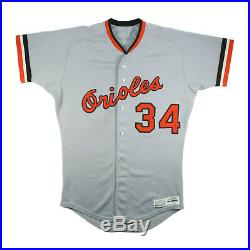 1983 Storm Davis Baltimore Orioles Game Used Jersey World Series Champion Season